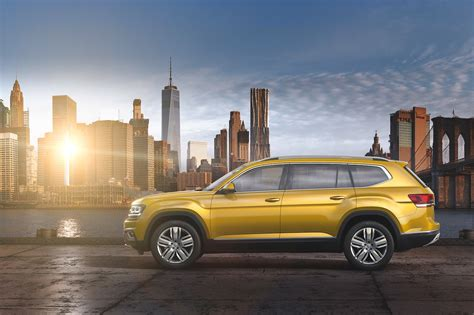 vw atlas 2018 volkswagen atlas first look cuv debuts with massive