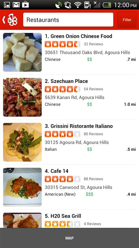 yelp app android yelp for android updated to v3 7 finally adds bar and something called yelp talk