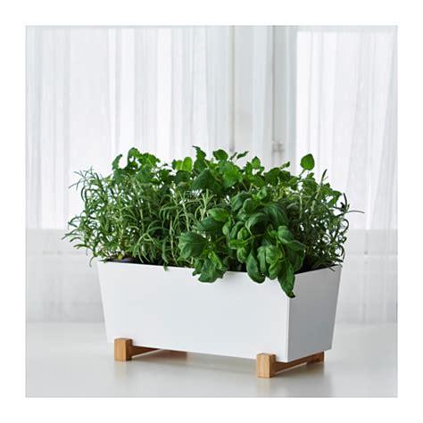 ikea planter bittergurka plant pot white 32x15 cm ikea