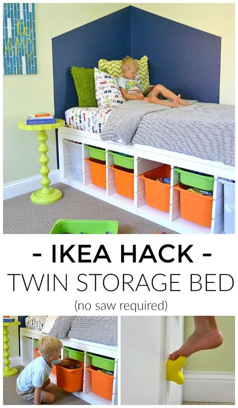 ikea bed storage hack best 25 ikea storage bed ideas on ikea