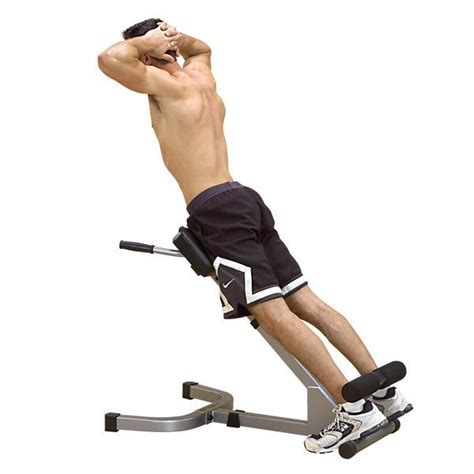 solid powerline 45 hyperextension back exercise