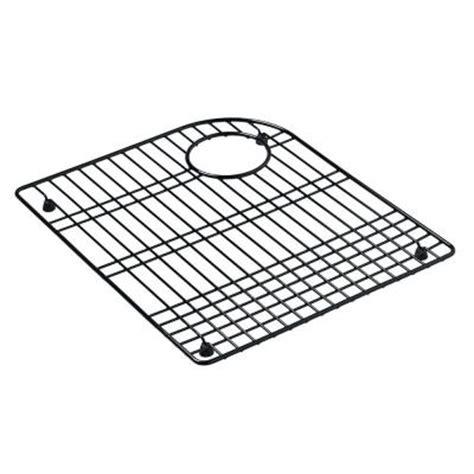 discontinued kohler sink racks kohler bottom basin rack in black discontinued k 6001 7