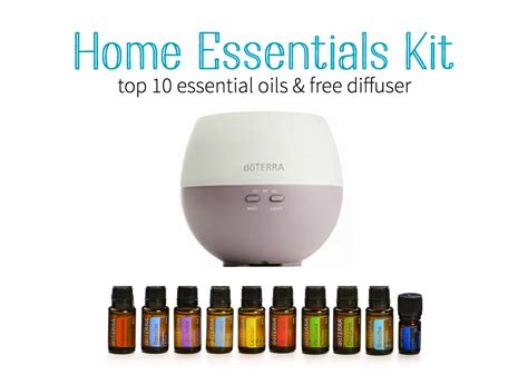 home essentials top kits to start your oil journey