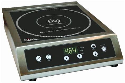 induction stove grill max burton 6530 maxi matic prochef 3000 watt commercial induction cooktop black for sale