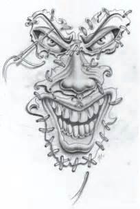 joker face tat2 commission by markfellows on deviantart