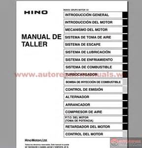 hino series 700 workshop manual auto repair manual forum