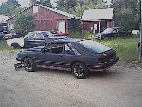 how things work cars 1984 mercury capri auto manual 84rsturbo s 1984 mercury capri in harrison me
