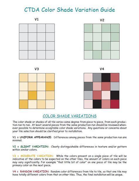 how to deal with shade variation in porcelain and ceramic tile the toa blog about tile more