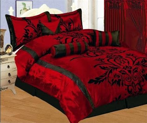 red bed set bedroom decor ideas and designs top ten gothic bedding