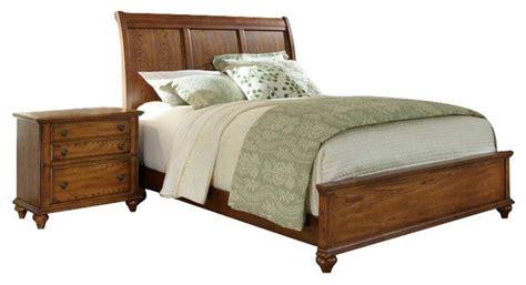 broyhill hayden place sleigh bed 2 bedroom set in