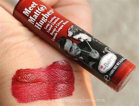 The Balm Lip Matte Hughes Lasting Liquid Lipstick Sale review meet matte hughes lasting liquid lipstick adoring b h a r t i p u r i b h a r