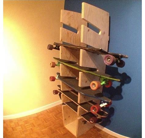 How To Make A Skateboard Rack by 22 Best Skate Board Racks Images On Hang Ten