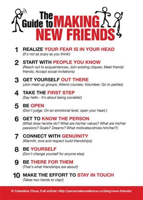 10 Tips To The With Someone New by Manifesto How To Make New Friends Personal Excellence
