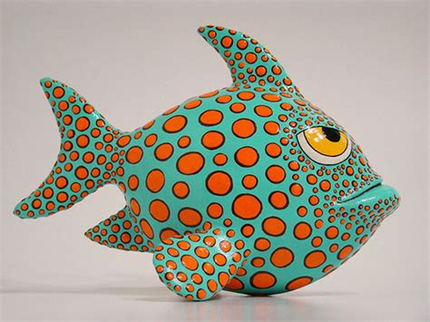 How To Make Paper Mache Fish - papier mache fish on behance
