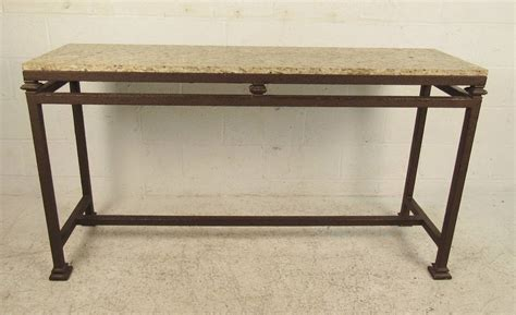Marble Top Sofa Table by Marble Top Console Table For Sale At 1stdibs