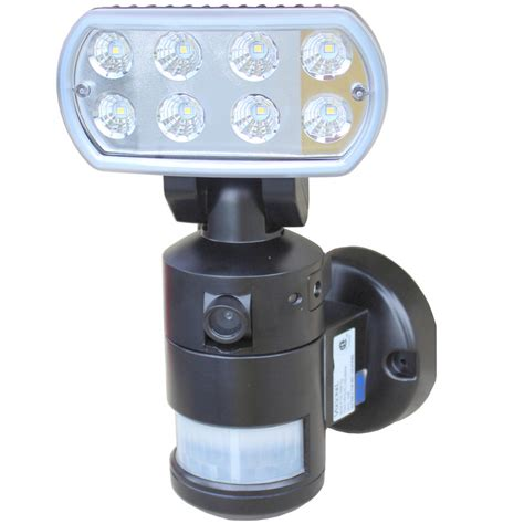 motion light with camera versonel nightwatcher led security motion tracking light