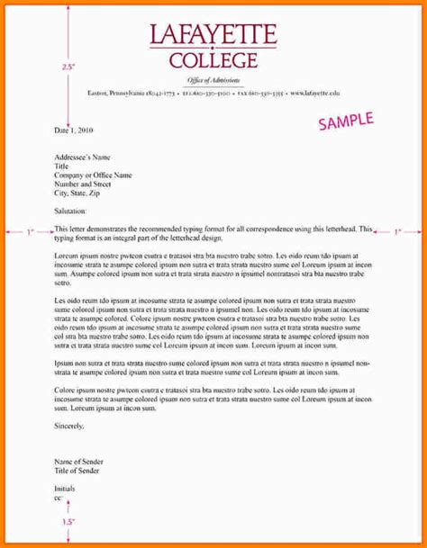 business letter format template with letterhead business letter format on letterhead letters font