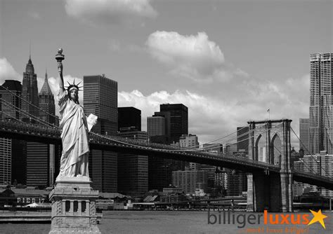 Rasch Wallpaper Wall Mural Wallpaper Brooklyn Bridge Statue Of Liberty New