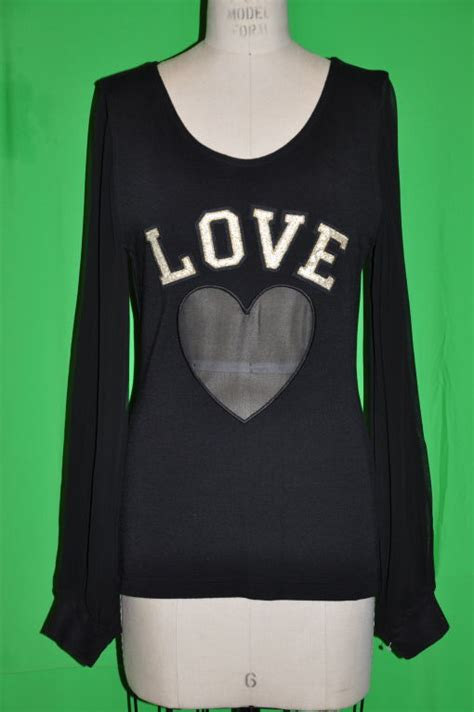 Id 008 Moschino Black Sweater moschino back wool quot quot top for sale at 1stdibs