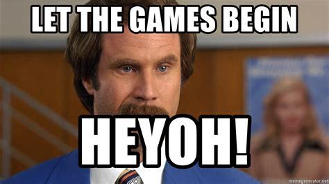 Let The Begin by Let The Begin Heyoh Anchorman Mustache Meme