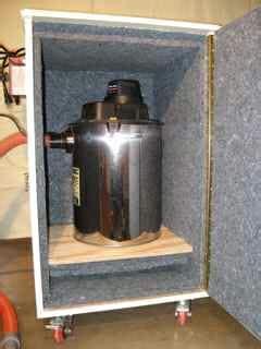 echo eliminator   soundproof shop vac