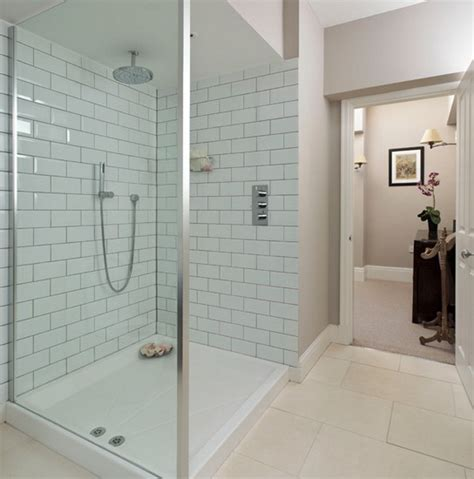 Bathrooms With Subway Tile Ideas by White Subway Tile Bathroom Ideas With Shower Only Design