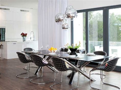Contemporary Kitchen Decorating Ideas by Modern Dining Room Lighting Fixtures Trellischicago