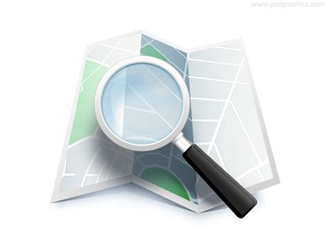 Search By Location On Search Map Location Icon Psd Psdgraphics