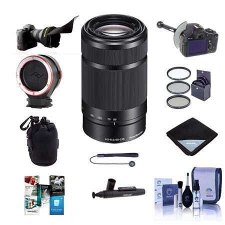 Jual Lensa Sony Nex 55 210mm sony 55 210mm f 4 5 6 3 oss e mount nex lens black with