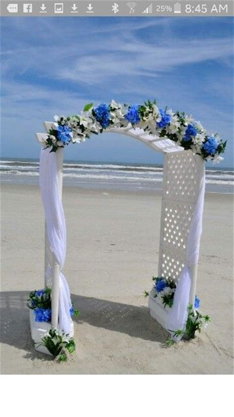 Wedding Arch With Lights by Dwan Wedding Arch With More Tulle Royal Blue Lights