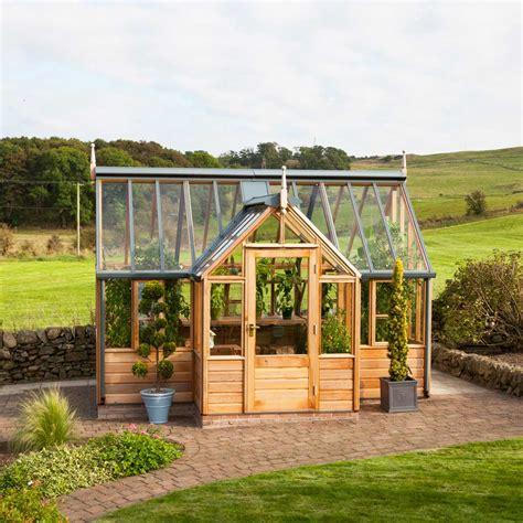 serre gabriel serre de jardin en bois portico 11x7 panneaux gabriel ash