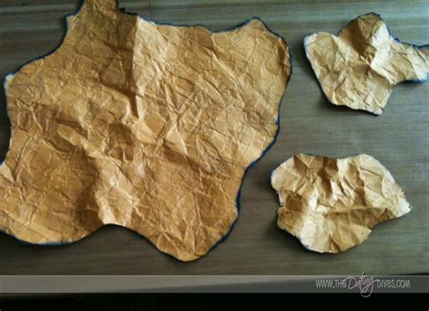 How To Make Treasure Map Paper - family treasure map
