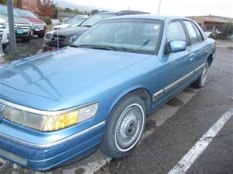 car owners manuals for sale 1993 mercury grand marquis user handbook 1993 mercury grand marquis cars for sale