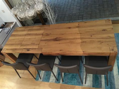 tavolo vecchio tavolo artigianale allungabile rovere vecchio tavoli a