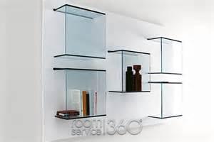 Modern Wall Mounted Shelves by Dazibao Modern Wall Mounted Shelving Unit By Tonelli