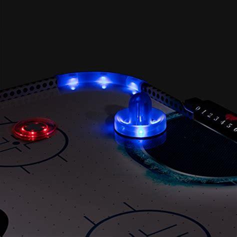 light the l hockey triumph fire n ice led light up 54 air hockey