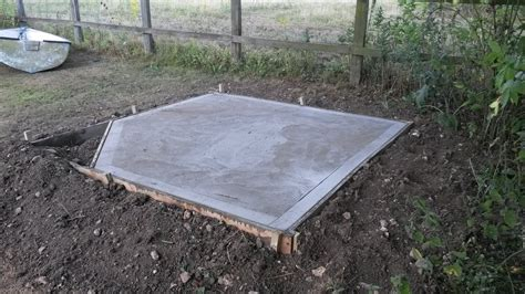 concrete base for a summer house welcome to julian