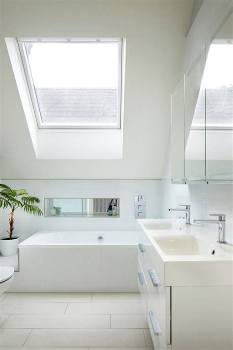 Small Loft la salle de bain sous pente comment l am 233 nager de