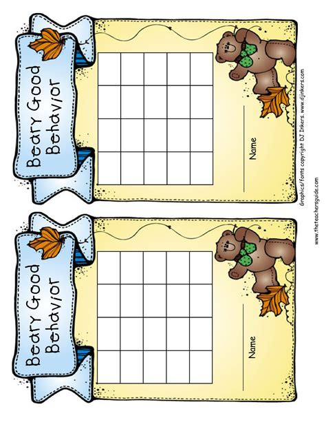 printable reward charts for good behavior free printable reward and incentive charts