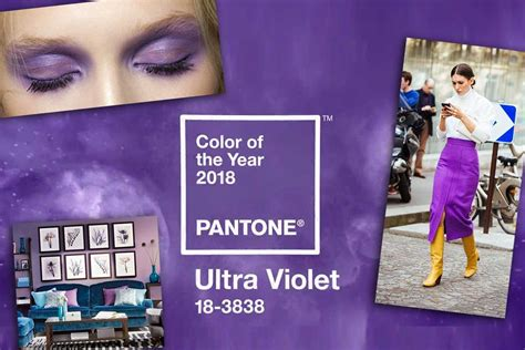 Pantone S Color Of The Year 2017 Colore Pantone 2018 Ultra Violet Idee Moda Make Up E