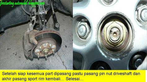 Bearing Tayar Belakang Myvi starting automobil diy wheel bearing kereta