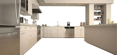 Cream Kitchen Designs by Andersens Kitchen Room Designer