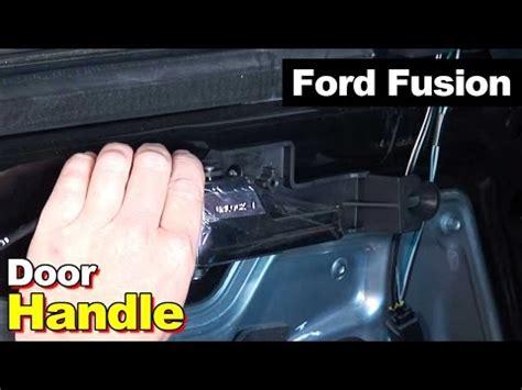 2007 Ford Fusion Interior Door Handle Replacing Broken Inside Door Handle On 2007 Ford Fusion Doovi