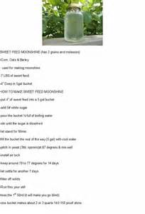 sweet feed moonshine recipe images frompo