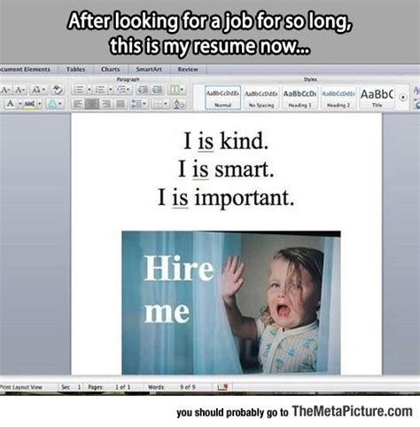 my resume now the meta picture