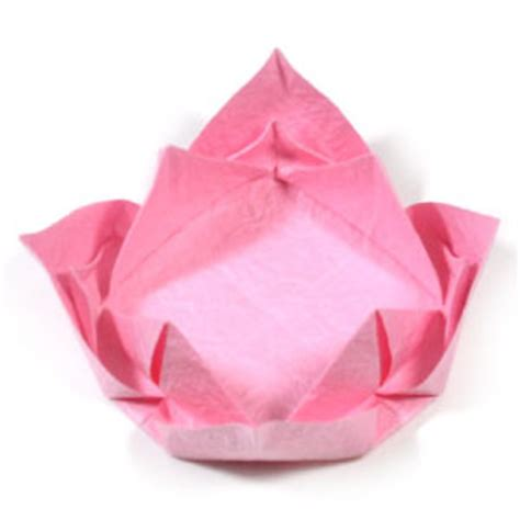 easy origami lotus how to make an easy origami lotus flower page 11