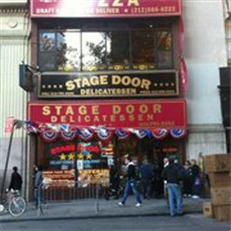 Stage Door Diner by Stage Door Deli Financial District New York Ny Yelp