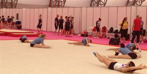 olympic gymnastics report usa and