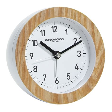buy clock buy oswold silent alarm clock 11cm online purely wall clocks