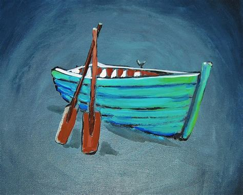 row the boat onesie row row row your boat painting by shannon lee